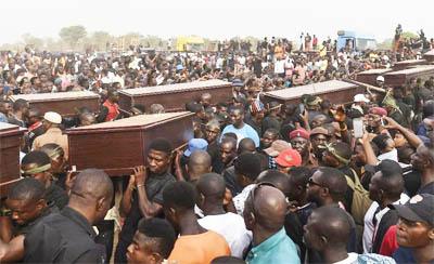 ATROCITIES – massacre of Nigerian Christians by militant